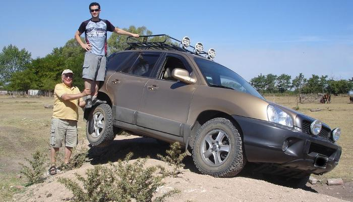 Parque4x4 Hyundai Santa Fe Primera Generacion