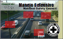 Conduccion segura, manejo defensivo del National Safety Council